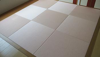 和紙素材のへりなし畳|株式会社田島製畳所 田島たたみ
