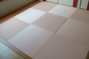 和紙素材の置き畳|株式会社田島製畳所 田島たたみ